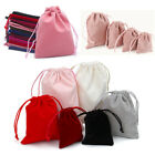 Small Velvet Bags Cloth Drawstring Jewelry Ring Earring Earphone Pouch Storage