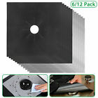 Gas Range Stove Top Burner Protector Reusable Liner Clean Cook Non-stick Cover