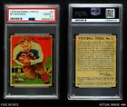 1935 National Chicle #2 Bo Molenda  Giants PSA 2.5 - GD+Football Cards - 215