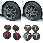 Aero Wheel Center cap and lug nut covers kit for OEM Tesla Model 3 S & X