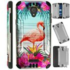 SILVERGUARD For Wiko Ride Phone Case Brush Hybrid Cover AB12