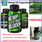 Hemp Oil Capsules 10000MG Pain Relief Anti-Inflammatory Joint Support Drops NEW $28.86 USD on eBay