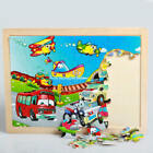 Multicolor Wooden Puzzle Jigsaw Animals Toddler Kids Early Learning Educa LAO