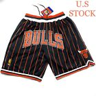 Chicago Bulls Basketball Shorts Mens Vintage 97-98 Pinstripes Sizes S-2XL on eBay