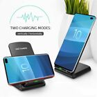 for iPhone 6s 7 8 Plus XR XS Max X Fast Qi Wireless Charger Stand Pad Dock