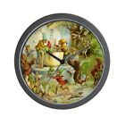 CafePress Gnomes, Elves & Forest Fairies Wall Clock (576382520)