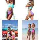 ALLureLove Swimsuits Bathing Suits Women Sexy Monokini Cut Out Bikini One Piece