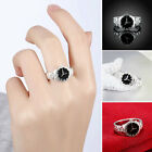 Novelty Women Men Cute Finger Ring Round Case Watch Shaped Jewelry Lover Gift 1X image