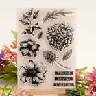 Flower Silicone Clear Transparent Rubber Stamp and Cutting Dies DIY Scrapbooking