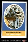 1972 Sunoco Stamps Gary Garrison Chargers EX/MT $2.45 USD on eBay