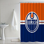 New Edmonton Oilers Ice Hockey Team Custom Print Bathroom Shower Curtain Decor $46.0 USD on eBay