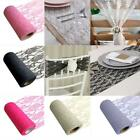 Organza Fabric Rolls Wedding Party Decoration Chair Bow Table Runner Sash Fm