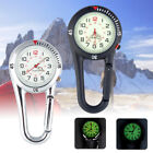 Nurse Doctor Sporters Outdoor Sports Carabiner Clip on Belt Watches Fob Watch image