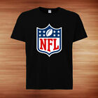 NFL National Football League Logo New T-shirt tee all size 100% cotton $17.50 USD on eBay