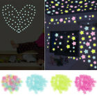 100-500x Glow In The Dark Plastic Luminous Stars Stickers Ceiling Bedroom Art Us
