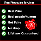 Youtube Service | viêws | likês | subscribêrs | comments | Watch Hours | Real фото