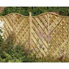Forest Garden 1.8 M X 1.8 M Treated Decorative Europa Strasberg Fence Panel