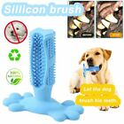 Dog Toothbrush Clean Stick Teeth Chew Toy Silicone Pet Brushing Dental Care OR