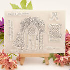 Warm Cosy Wishes Silicone Clear Transparent Stamp and Cutting Dies Scrapbooking