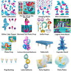 MERMAID UNDER THE SEA THEME DECORATIONS - PARTYWARE COMPLETE SELECTION