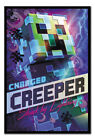 """FRAMED Minecraft Charged Creeper Poster Officially Licensed 24X36"""""""