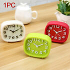 Silent Sweep Decoration Digital For Home Alarm Clock Simple Night Light Table