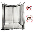 New 4 Corner Post Bed Canopy Mosquito Net Full Queen King Size Netting Bedding image