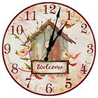 Bird House Themed Decorative Wall Clock from KDL