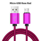 EXTRA LONG BRAIDED MICRO USB CABLE FAST CHARGING FOR ANDROID WINDOWS PS4 XBOX 2