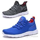 Kids Sneakers Boys Girls Mesh Lace Up Sporty Tennis Shoes Youth Size 10 4 New