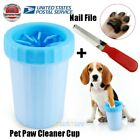 Dog Paw Cleaner Soft Silicone Pet Foot Dirty Washer Cup Paw Nail Clean Brush USA