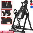 Foldable Inversion Table ProDeluxe Safe Chiropractic Table Exercise Back Gravity image