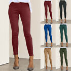 Fashion Women's Leggings Slim Tight Elastic Casual Pants Solid Color GIFT