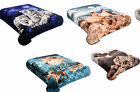 New Blanket Animal Queen Size Plush Soft Mink at Linen Plus 5LBS image