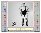 Decaldoggy - Andre The Giant Compatible With Wwe Vinyl Decal Car / Wall