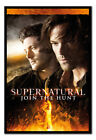 Supernatural Join The Hunt Poster Framed Cork Pin Memo Board With Pins