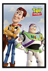Toy Story Woody ann Buzz Lightyear Poster Magnetic Notice Board Inc Magnets