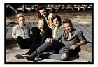 One Direction Up On The Roof Poster Magnetic Notice Board Inc Magnets