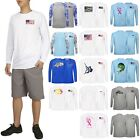 Performance Fishing Shirts for Men Long Sleeve UPF 50 Protection Outdoor T-Shirt image