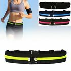 Dual Pocket Sports Running Belt Phone Pouch Waist Bag Travel Pack Outdoor MY image