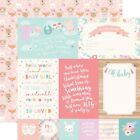 "4""X6"" Journaling Cards - Hello Baby Girl Double-Sided Cardstock 12""X12"" -25/pack"
