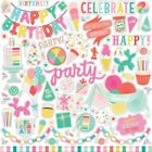 "Elements - Let's Party Cardstock Stickers 12""X12"""