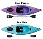 Kayak Boat Large Cockpit Phoenix 10.4 Sit-in Purple and Blue with Paddle