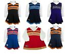 NFL Cheerleader Dress Toddler Girl's 2-Piece Jumper & Turtleneck Cheer Outfit #1 $17.87 USD on eBay