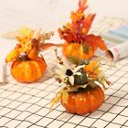 Artificial Pumpkin Maple Leaf Halloween Thanksgiving Ornament Props Home Decor
