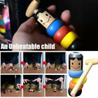 #Halloween Sale! 2019 Funny Wooden Magic Toy The Wooden Stubborn Man Toy