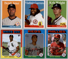2019 Topps Archives Baseball - Base Set Cards - Choose From Card #'s 1-200 on Ebay