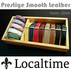 Prestige Classic Soft Semi Shine Calf Leather Watch Straps - 13 Colours, 6 Sizes