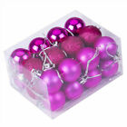 USA Large Christmas Decor Baubles Tree Xmas Balls Party Wedding Ornament 24pcs