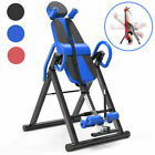 Heavy Duty Adjustable Inversion Table Back Pain Relief Therapy Fitness Equipment image